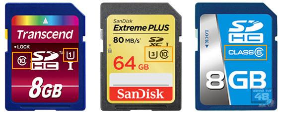 SD карта - как выбрать карту памяти