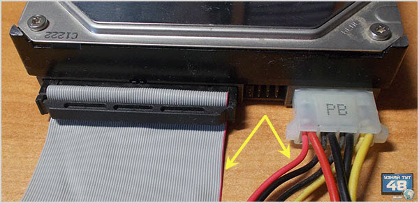 Как подключить ide жесткий диск к компьютеру