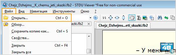 Чем открыть fb2 файл в Windows